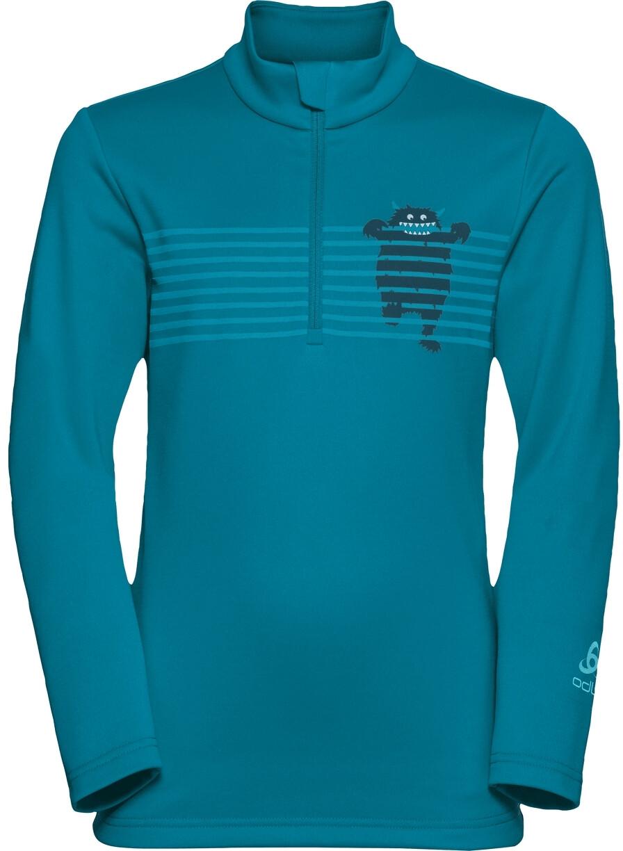 Odlo Kinder Midlayer 1//2 Zip Le Tour Kids Pullover /& Sweatshirts
